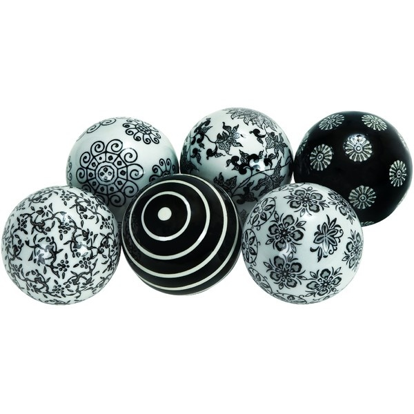 Black And White Decorative Ceramic Balls Interesting 49 Best Fillers Images On Pinterest  All Things Purple Antique Decorating Design