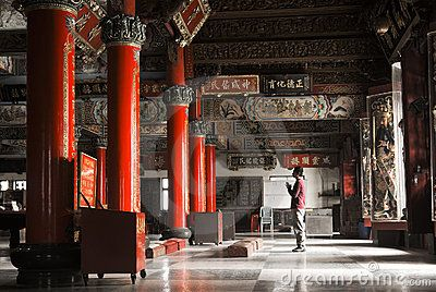 Building interior of temple with one Asian prayer ( http://www.dreamstime.com/stock-images-building-interior-temple-one-asian-prayer-image12453714, 2013 )