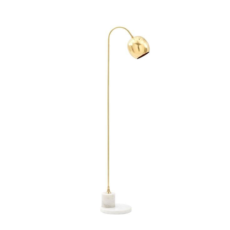 Bungalow 5 Electra Polished Brass Floor Lamp