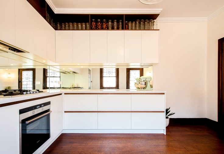 eat.bathe.live :: kitchen design within a beautiful art deco apartment for our clients in St Kilda East. By eat.bathe.live
