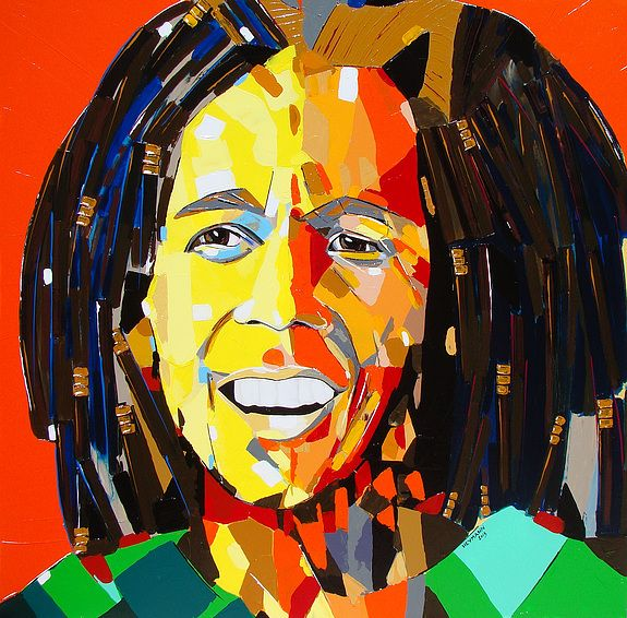 Bob Marley was a powerful singer  & his words were wholesome. Rasta music & culture were part of my life for a while.
