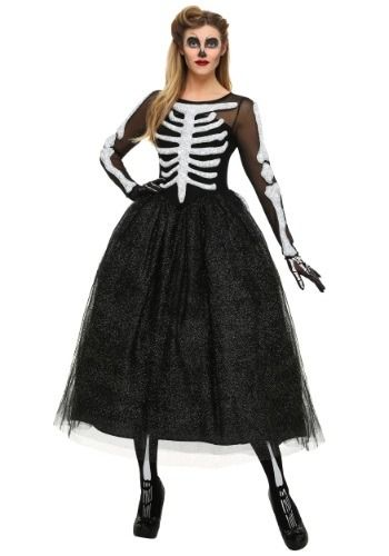 This exclusive Women's Skeleton Beauty Plus Size Costume will leave you looking like the belle of the skeleton ball. If you are…
