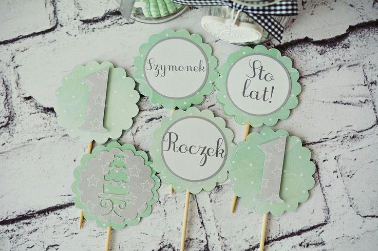Wyjątkowe dekoracje urodzinowe dla dzieci, Dekoracje na zamówienie, piki do muffin, dekoracje na tort #dekoracje #urodziny #dziecko #roczek #wnętrza #piki #cupcakes #toppers #kidsparty #muffin
