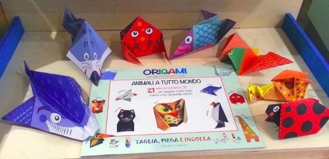 libro gioco - ORIGAMI A TUTTO MONDO Edizioni del Baldo - by irene mazza