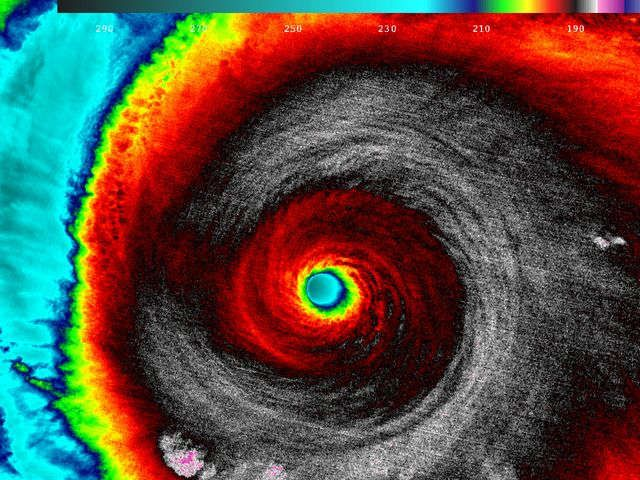 Monster Hurricane Patricia makes landfall in Mexico