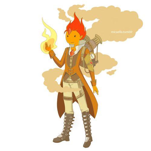 adventure time gender bender | Flame PrinceAdventure Time in Renaissance/Steampunk: FinnFionnaJake ...