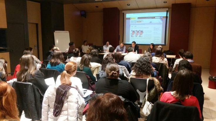 Acción formativa proyecto Servicios de información juvenil + Garantía Juvenil. https://lasalamandrasiguenza.wordpress.com/2016/03/15/garantia-juvenil-2/