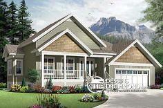 Plan de maison no. W3267-V1 de dessinsdrummond.com