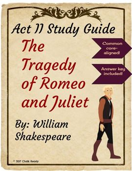 Best 25 act study guide ideas on pinterest act to sat score common core resource for romeo and juliet act 2 help your students interact with shakespeare fandeluxe Images