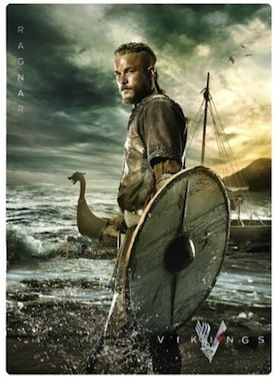 #vikings season 2 | History CHannel Vikings Season 2 Dishing Out Comic-Con Cards
