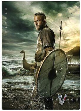 #vikings season 2 | History CHannel Vikings Season 2 Dishing Out Comic-Con Cards