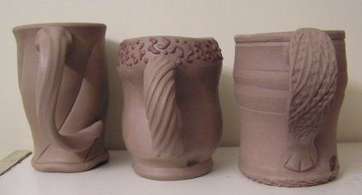 Fine Mess Pottery: New Handles