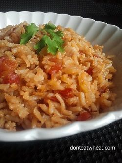 Seriously my favorite Mexican Rice Recipe ever! (and we've tried so many!!)