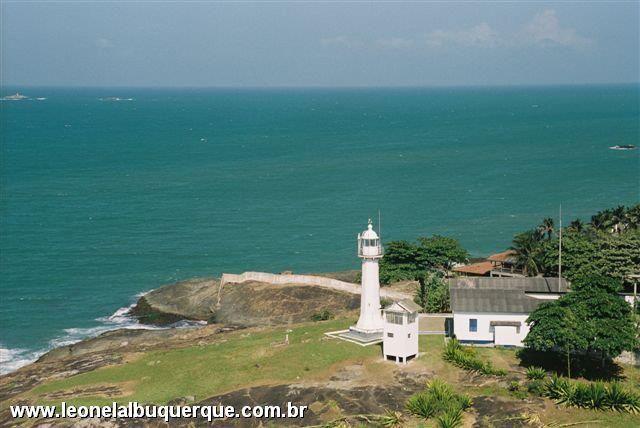 Farol de Santa Luzia - Vila Velha - ES, Brasil