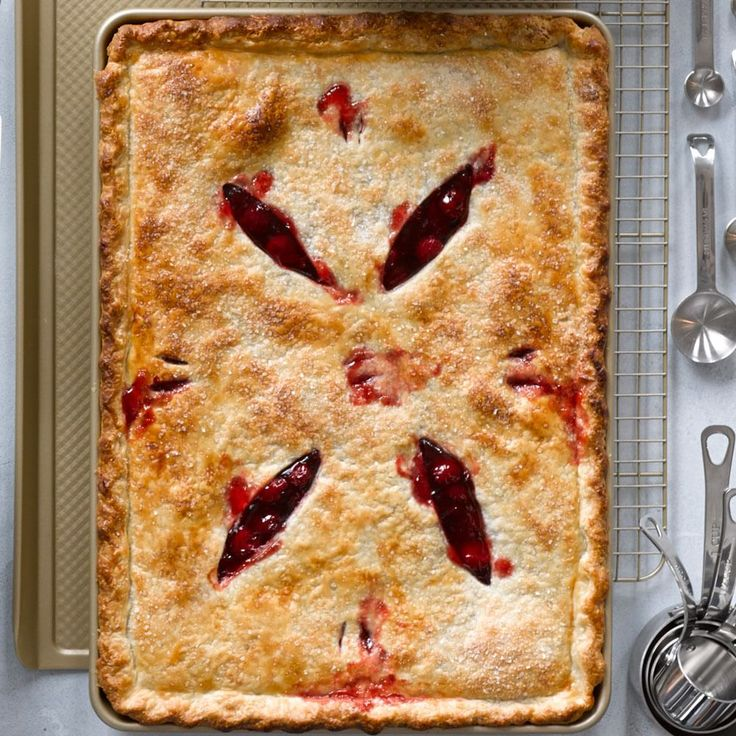 Cherry Slab Pie | Williams-Sonoma