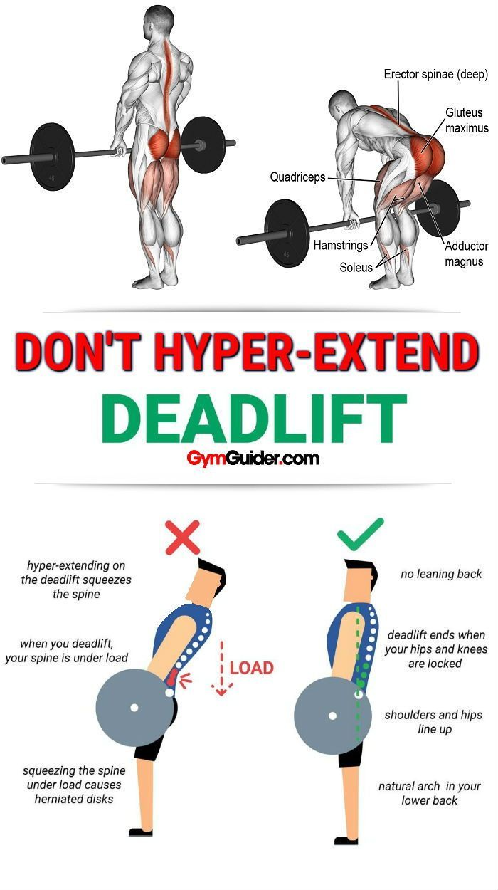Get More Booty And Curvaceous Glutes With These 4 Deadlift -7477