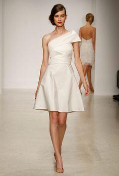Amsale Short Wedding Dress