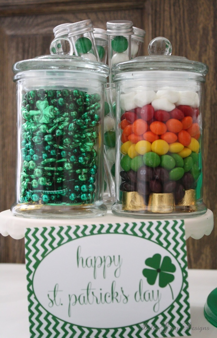 Lucky St. Patrick's Day Collection decorative labels