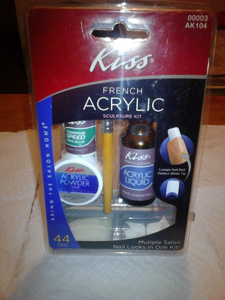 secrets acrylic nail kit instructions