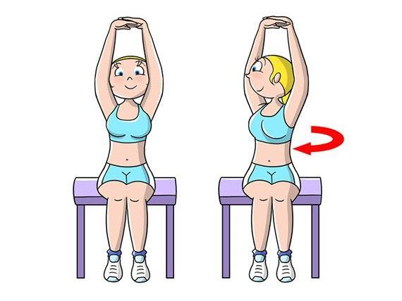 Se vuoi snellire il tuo girovita: devi mangiare sano, fare esercizi cardio e fare questi 5 esercizi almeno 3 volte a settimana.