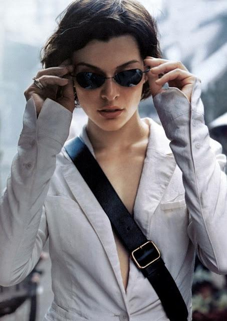 Milla Jovovich. <3                                                                                                                                                                                 More
