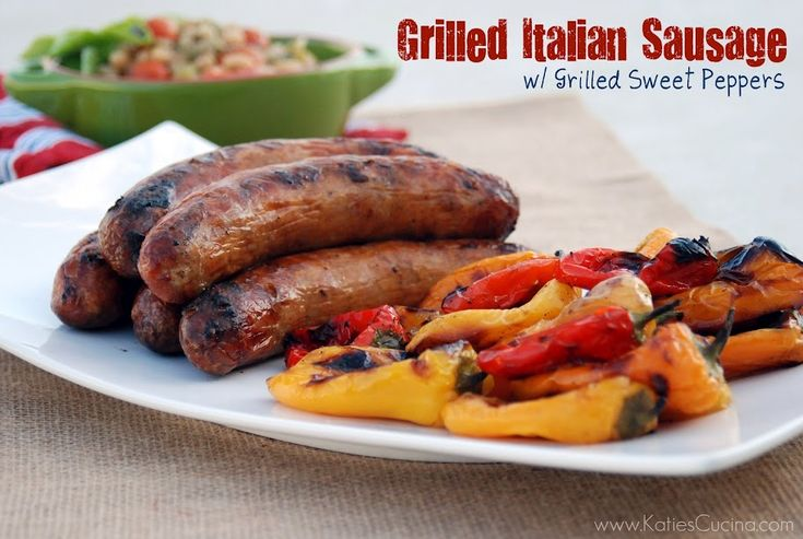 ... | Grilled Italian Sausage, Baguette Bread and Buffalo Chicken Quinoa