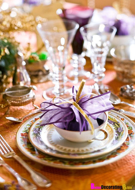 Diy Friday Easy Decorative Holiday Touches Purple