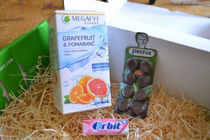 Lékořice s vitamínem C, Studený čaj a žvýkačky Bubblemint