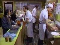 "Olympia Cafe ""cheeseburger, cheeseburger, cheeseburger, Pepsi, no Coke!""   Classic SNL ~ Bill Murray, John Belushi"