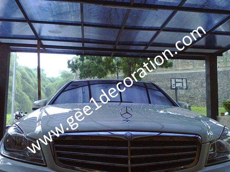 aluminium, kusen, kaca, partisi,  pintu, jendela, lipat, geser, swing, jungkit, pivot, sliding, : atap canopy carport