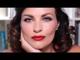 Ultimate Retro Glam - Ava Gardner Makeup for Hooded Eyes | pixiwoo - YouTube | Bloglovin'