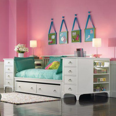 Brookleigh Storage Daybed Twin Trundle Underneath For