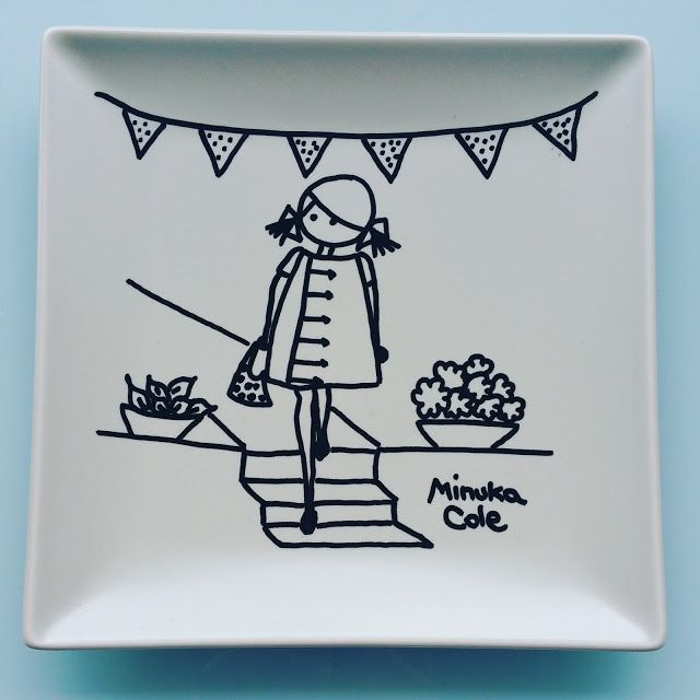 9,90 € Plate Minuka Cole. Your friend forever