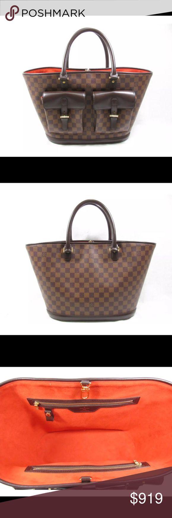Auténtico LOUIS VUITTON Manosque GM de mano Damier Like new never used in perfect conditions Louis Vuitton Bags