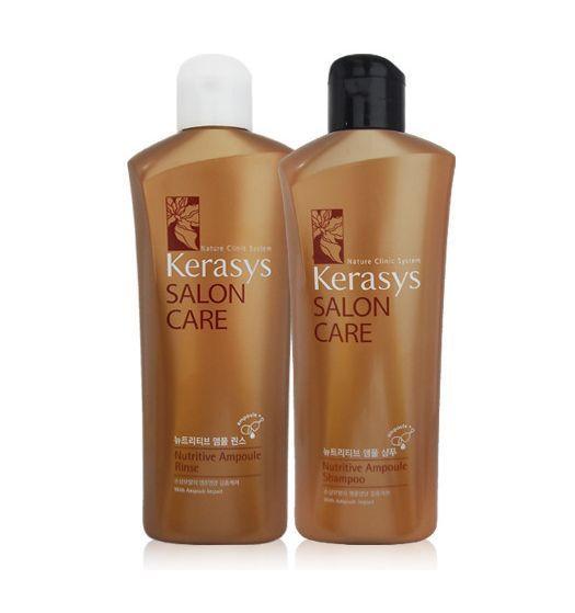 KERASYS Perfume + Damage Clinic Shampoo & Conditioner 180ml 4pcs set #KERASYS