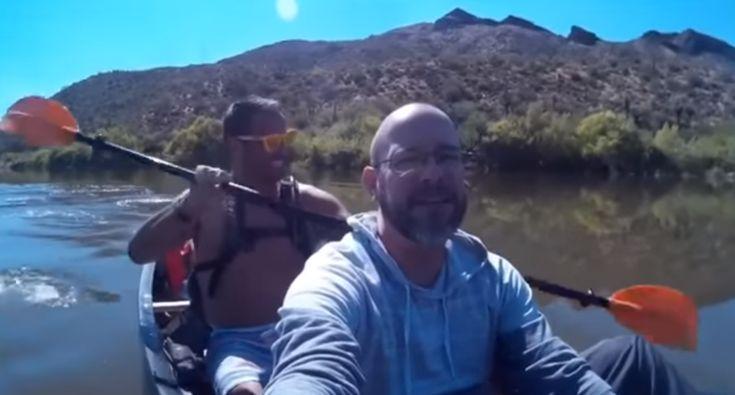"""Passeio De Canoa Termina Com Anzol No """"Peixe"""" Errado"""