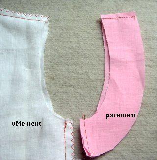Coupe Couture : emmanchure sans manche