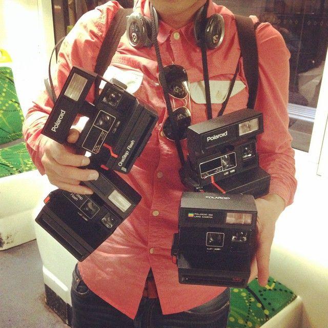 "@filmneverdie's photo: ""after the walk today I feel like a Polaroid Man ! #filmneverdie #mfringe #polaroid #walk #camera"""