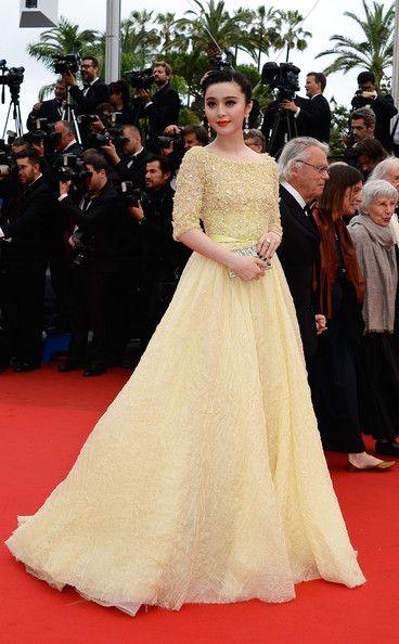 Fan Bingbing in Elie Saab Haute Couture - Cannes Film Festival 2013