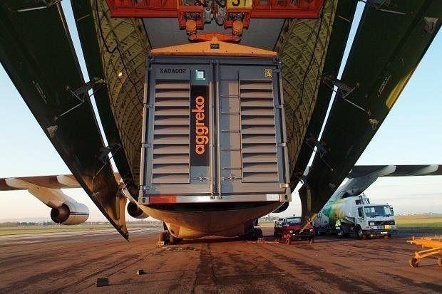 Aggreko air freight