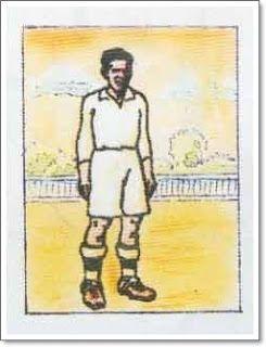 Olivares. Real Madrid. 1931-32. Campeón de Liga. Delantero centro.