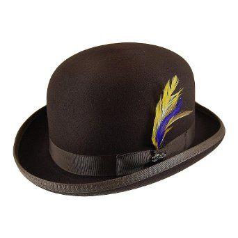 Bailey Hats Derby - Brown