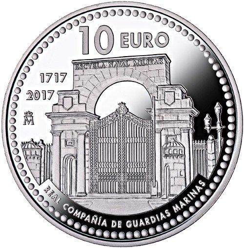 Moneda 300 Años de la Real Compañía de Guardias Marinas | Numismatica Visual