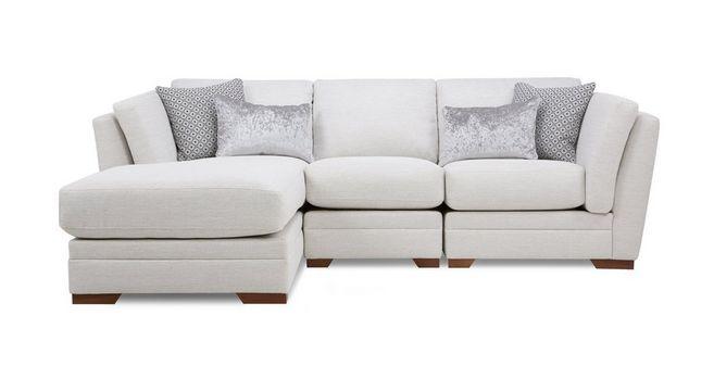 Long Beach Left Hand Facing Small Chaise Sofa   DFS