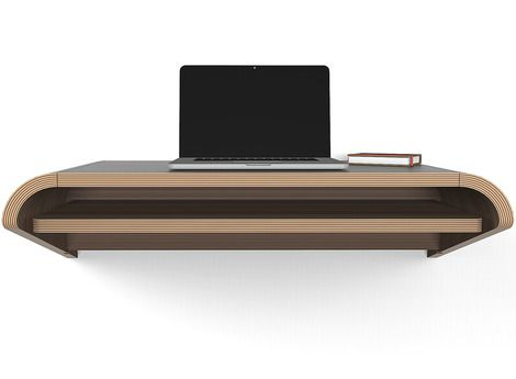 Minimal Float Wall Desk by Orange 22