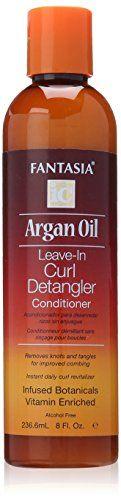 Fantasia Argan Oil Detangler, 8 Ounce