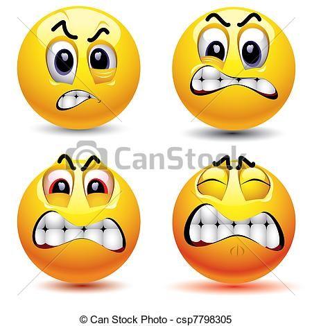 Vector - Smileys - stock illustratie, royalty-vrije illustraties, stock clip art symbool, stock clipart pictogrammen, logo, line art, EPS beeld, beelden, grafiek, grafieken, tekening, tekeningen, vector afbeelding, artwork, EPS vector kunst