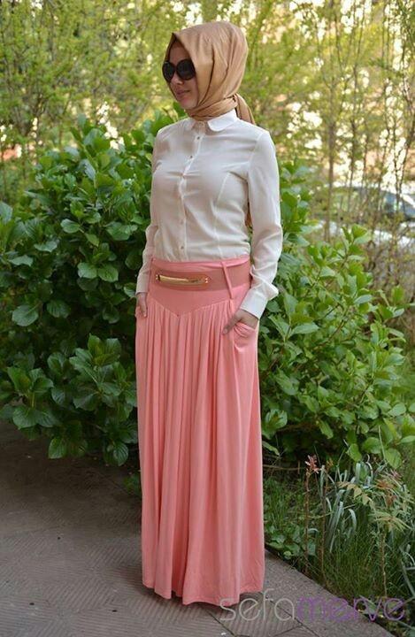 Sefa merve hijab style