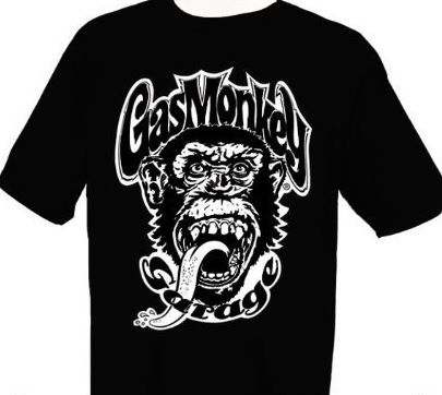 You can wear a Gas Monkey Garage t-shirt just like they do on the show! Check out the following Fast and Loud t-shirts that are for sale. They are great gifts for anyone who watches Fast and Loud on the Discovery Channel.