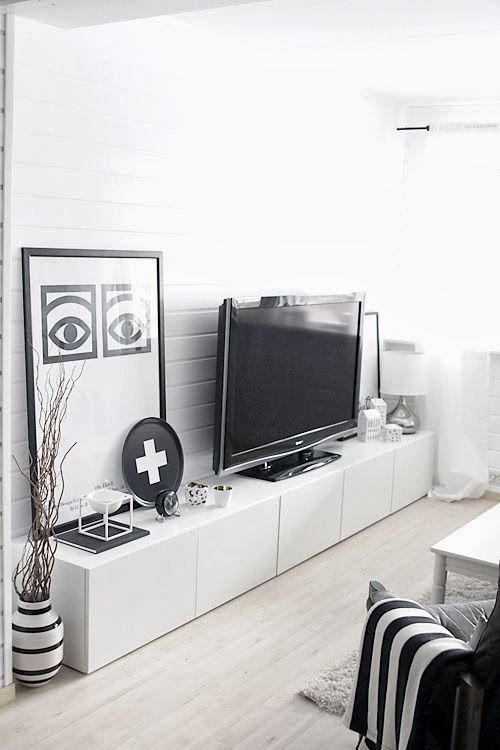 IKEA hacks, IKEA Besta, IKEA, IKEA storage, IKEA ideas, Modern design, design on a budget, design ideas, design inspiration, great dane furniture, The Milk Lamp, Concrete house by bloomingville, concrete house, little concrete house, pia wallen tray, pia wallen, Tom Ford book, black and white lounge ideas, black and white lounge, Nordic design, Scandanavian design